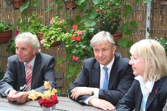 OB Jürgen Roters-Klaus Wowereit-Elfi Scho-Antwerpes
