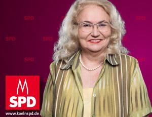 Polina Frebel - Kandidatin für den Wahlkreis  Mülheim, Buchforst und Buchheim
