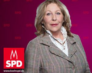 Erika Oedingen - Kandidatin für den Wahlkreis Niehl und Weidenpesch