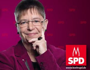 Conny Schmerbach - Kandidatin für den Wahlkreis Ehrenfeld und Neuehrenfeld