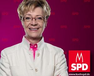 Monika Schultes - kandidatin für den Wahlkreis Bickendorf, Vogelsang, Bocklemünd und Mengenich