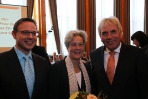 V.l.n.r:  Martin Börschel, Dr. Agnes Klein, Jürgen Roters