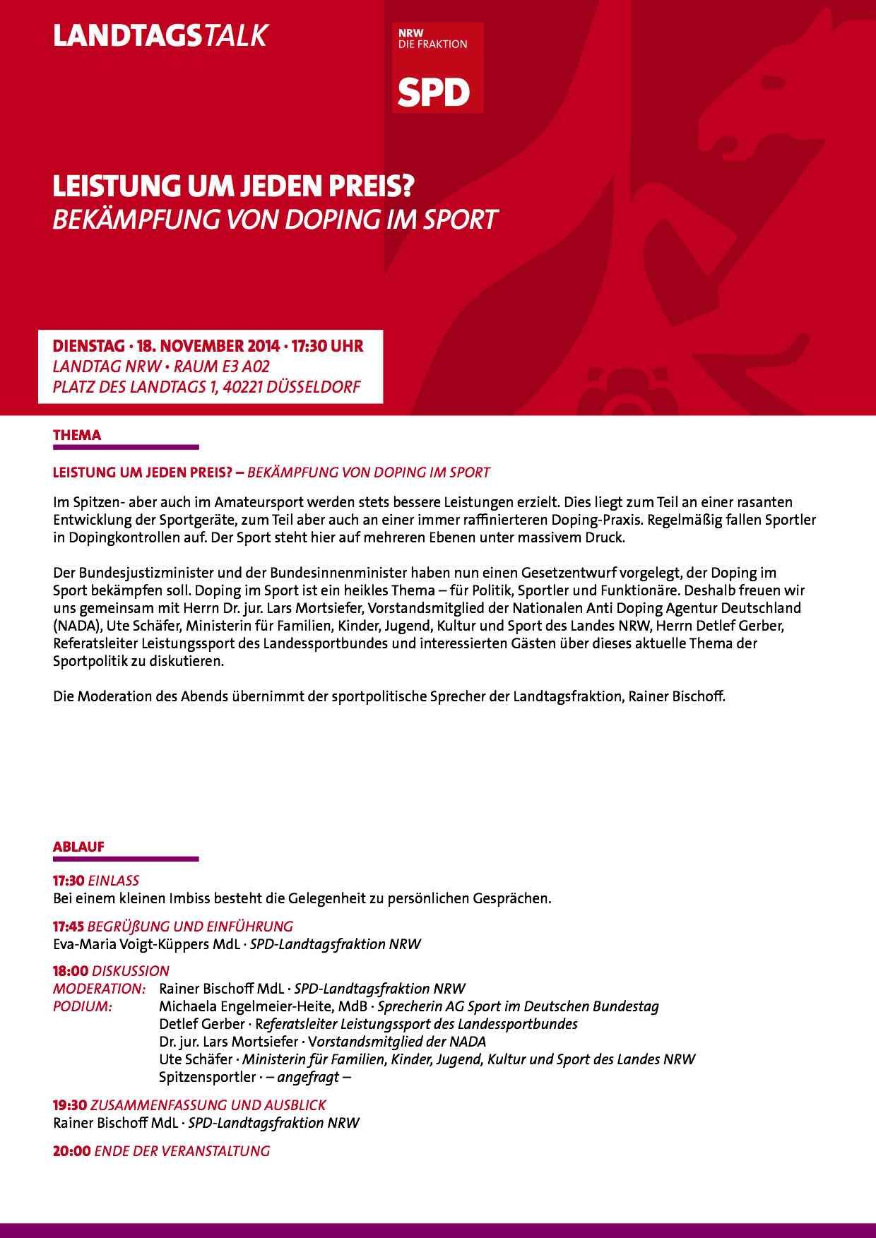 Einladung LT-Talk_Doping_Sport