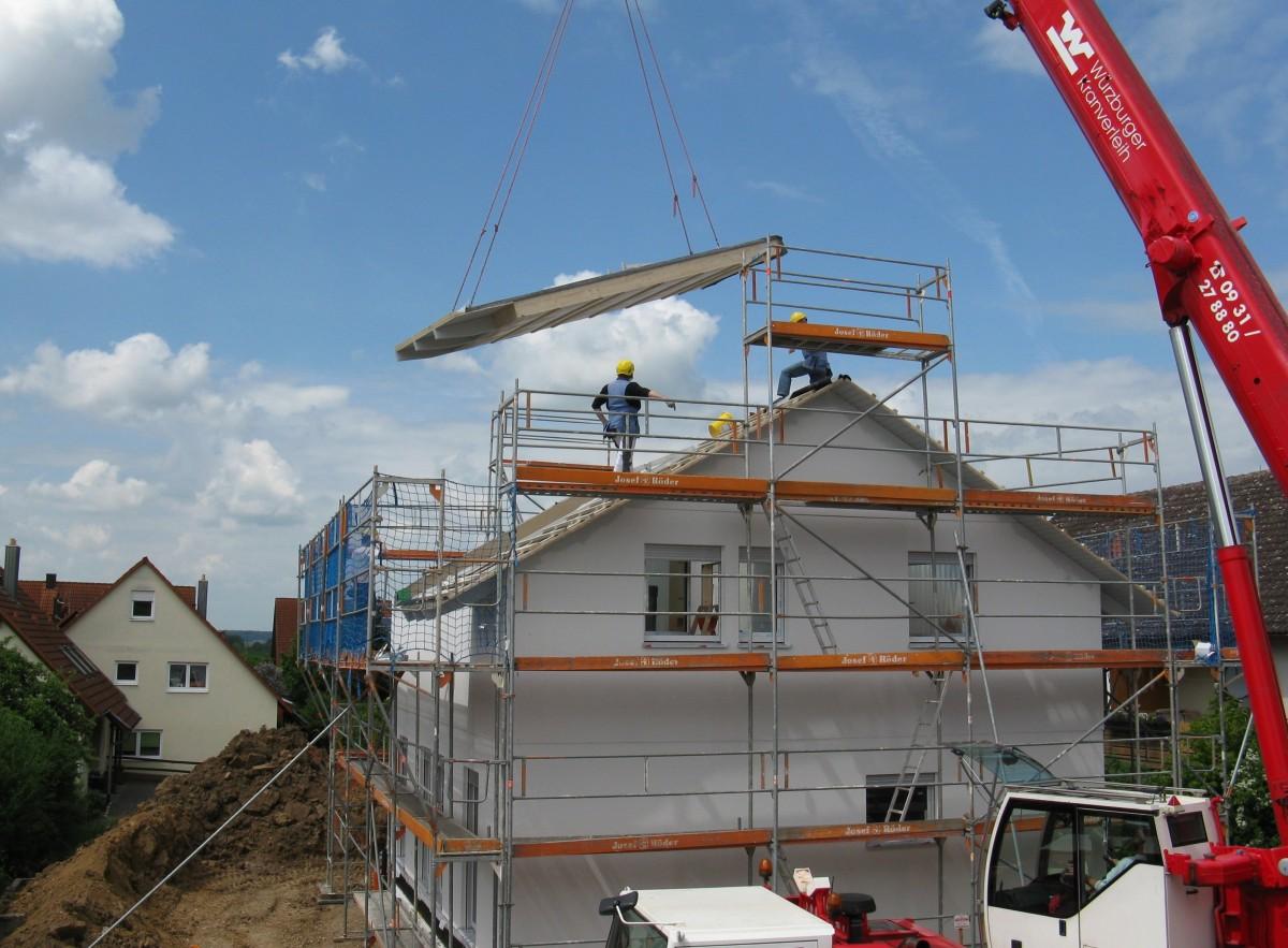 Symbolbild Baustelle Wohnungsbau