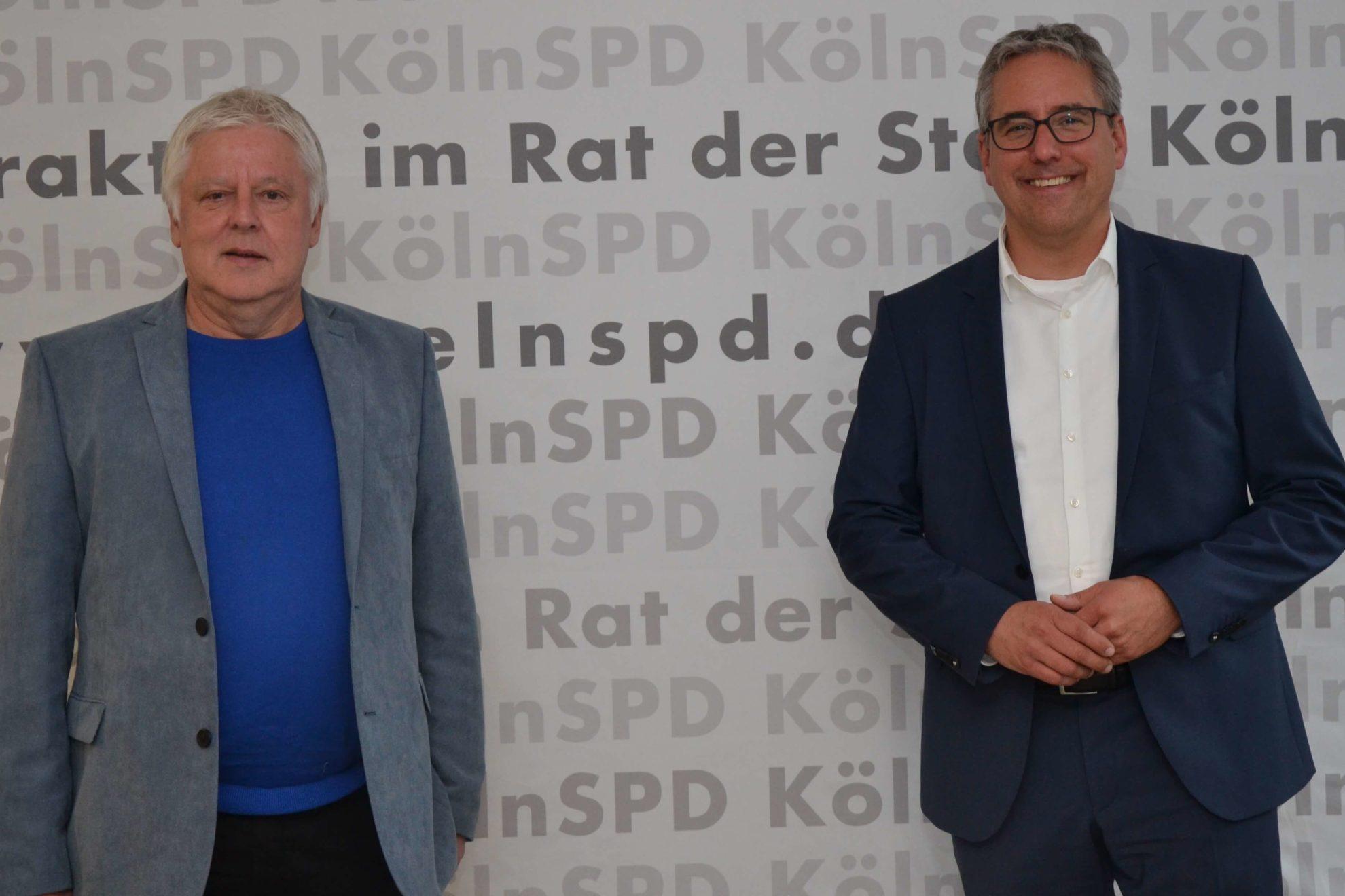 Andreas Kossiski (l.) und Christian Joisten